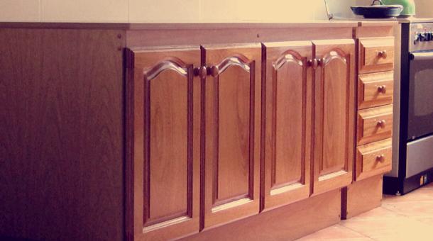 simple muebles madera maciza cerejeira with muebles de cocina en madera